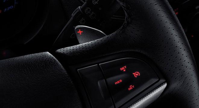 MG MG5 2018 steering wheel controls