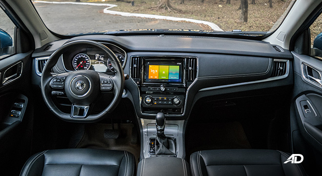mg rx5 review road test dashboard interior philippines