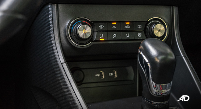mg zs review road test climate control interior philippines