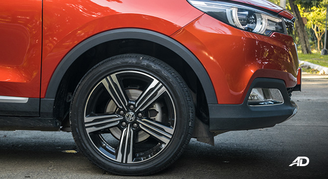 mg zs review road test wheels exterior philippines