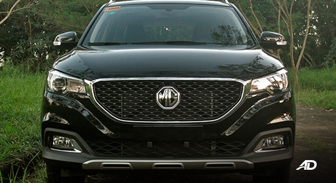 MG ZS road test review fascia exterior