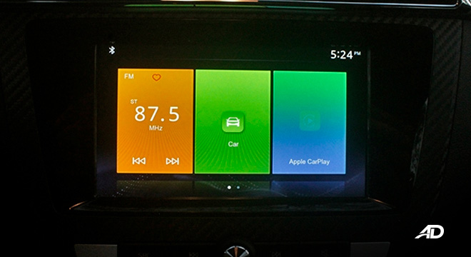 MG ZS road test review touchscreen infotainment interior philippines
