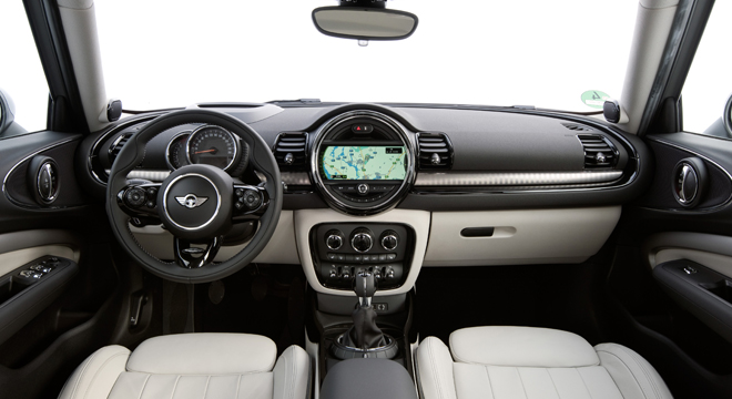 Mini Clubman 2018 Philippines interior