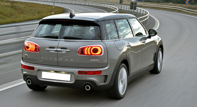 Mini Clubman 2018 Philippines rear