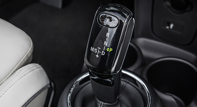 MINI Cooper 3 Door Hatch 2018 gear shift knob