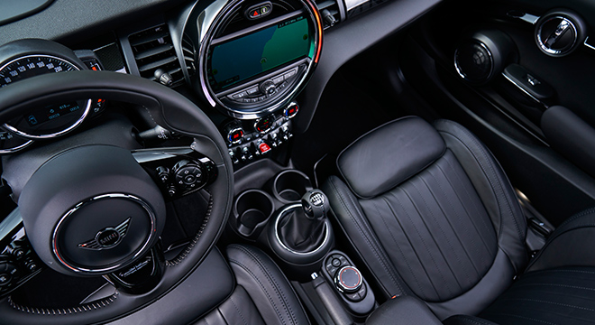 MINI Cooper 3 Door Hatch 2018 interior