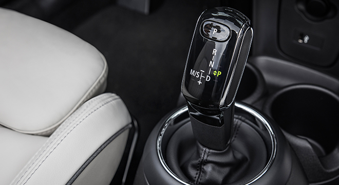 MINI Cooper Convertible 2018 gear shift knob
