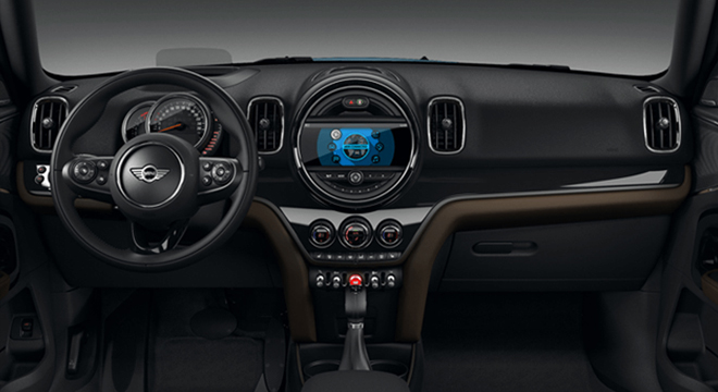 Mini Cooper Countryman 2018 Philippines steering wheel