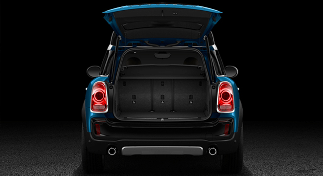 Mini Cooper Countryman 2018 Philippines trunk