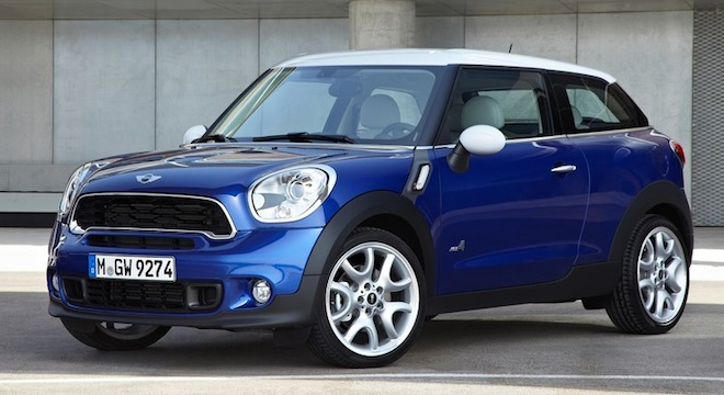 Mini Cooper Paceman 2018 Philippines blue