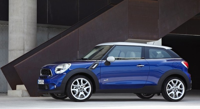 Mini Cooper Paceman 2018 Philippines side