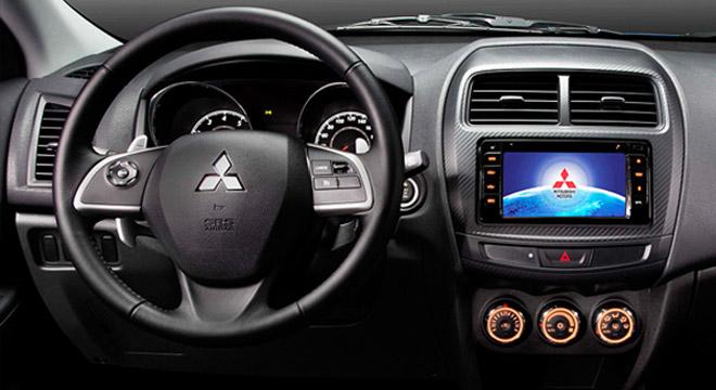 Mitsubishi ASX 2018 dashboard