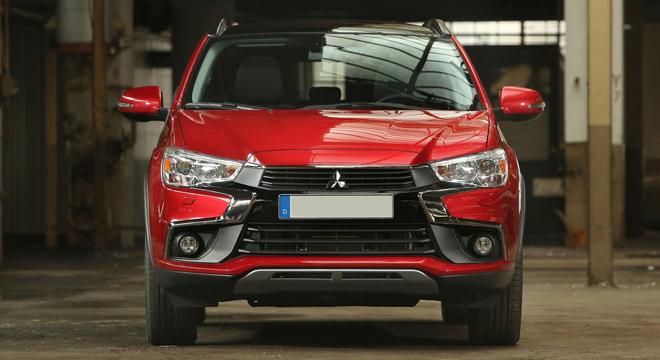 Mitsubishi ASX 2018 front