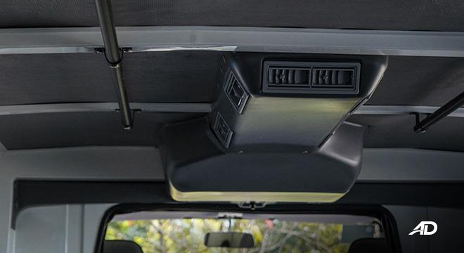 Mitsubishi L300 interior rear air-conditioning