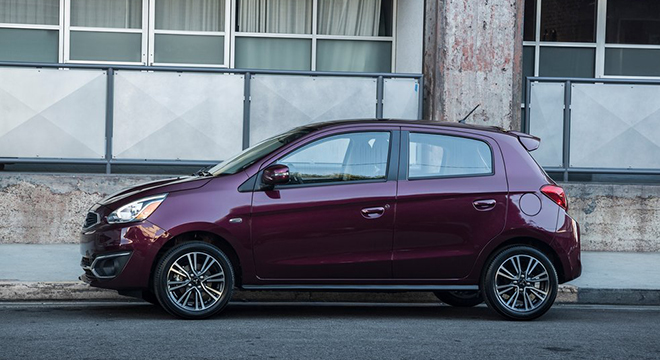 Mitsubishi Mirage 2018 side