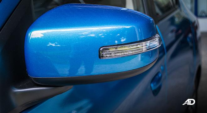 mitsubishi mirage g4 road test exterior side mirror