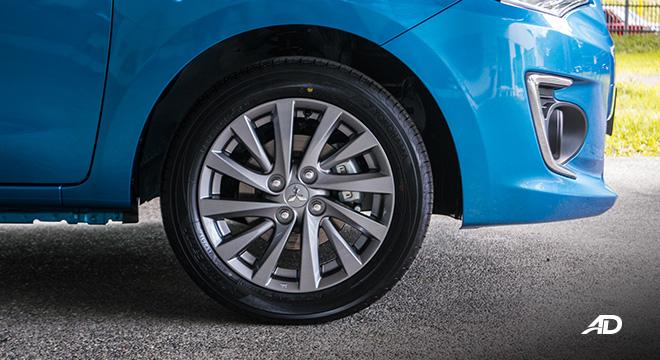 mitsubishi mirage g4 road test exterior wheels philippines