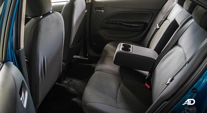 mitsubishi mirage g4 road test interior cupholders