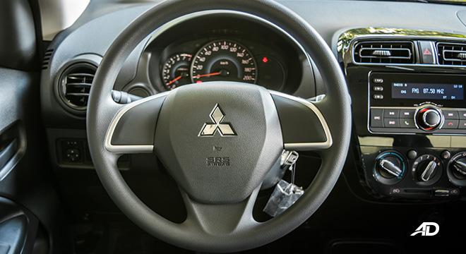 mitsubishi mirage road test steering wheel philippines