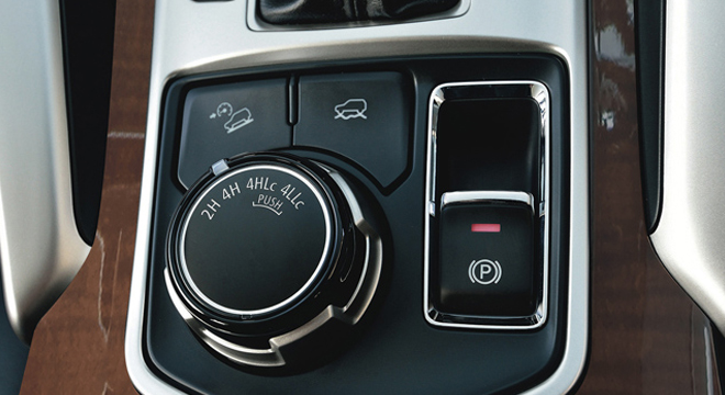 Mitsubishi Montero Sport 2018 controls