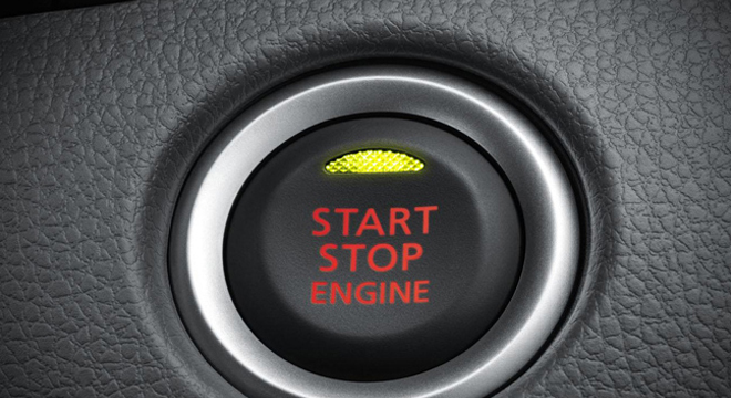 Mitsubishi Montero Sport 2018 push start button