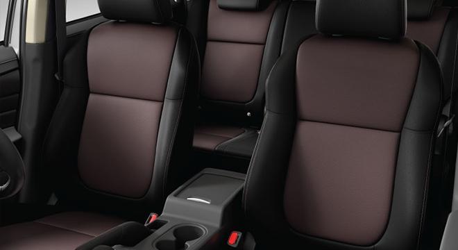 mitsubishi xpander cross press photo leather seats interior philippines