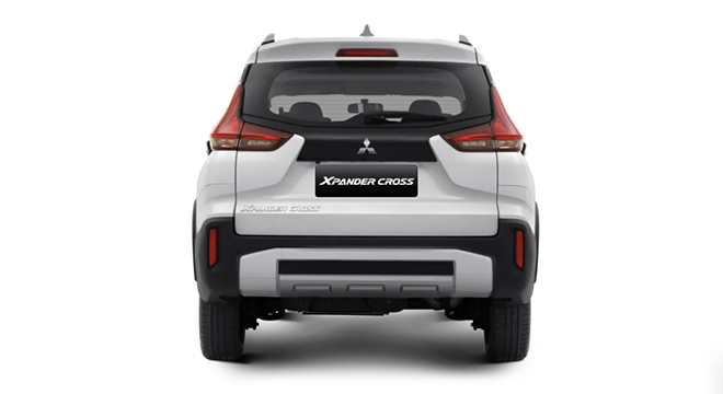 mitsubishi xpander cross press photo rear view exterior