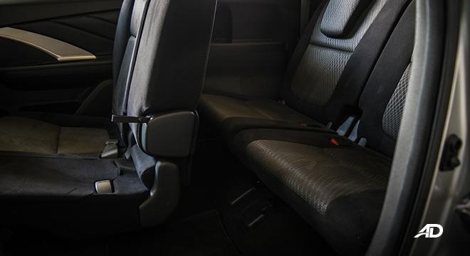 mitsubishi xpander road test third row interior philippines