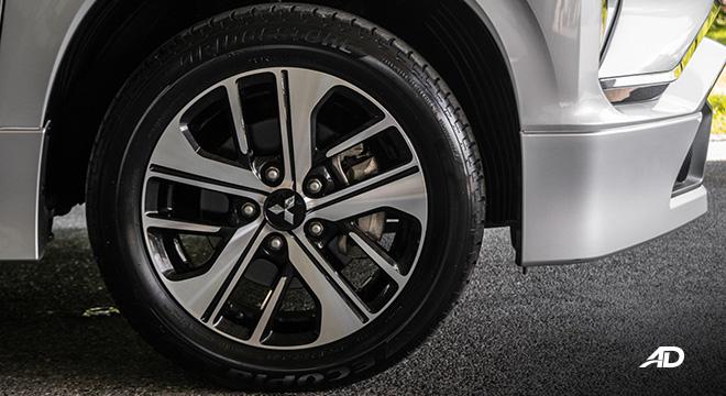 mitsubishi xpander road test wheels exterior