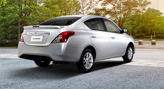 Nissan Almera rear quarter