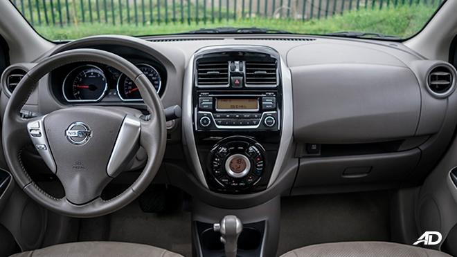 nissan almera road test review dashboard interior philippines