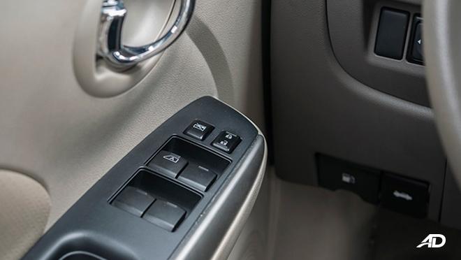 nissan almera road test review door controls interior philippines
