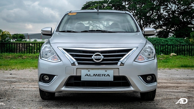 nissan almera road test review front view exterior philippines