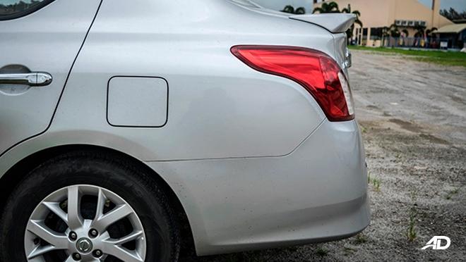 nissan almera road test review rear exterior
