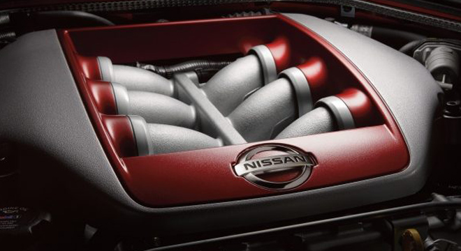 Nissan GT-R 2018 engine