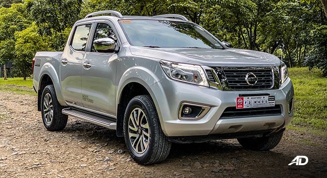 Nissan Navara road test exterior beauty
