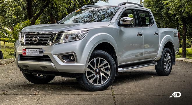 Nissan Navara road test exterior front philippines