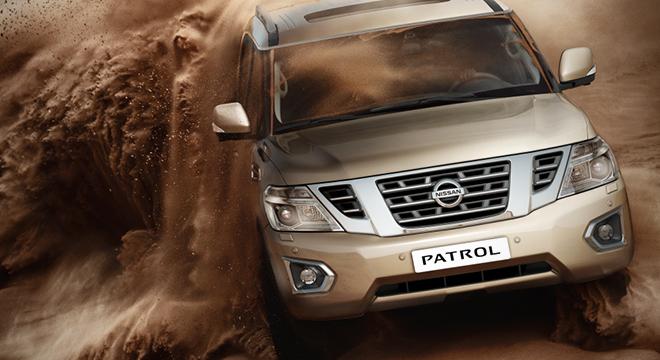 Nissan Patrol Royale 2018 off-road
