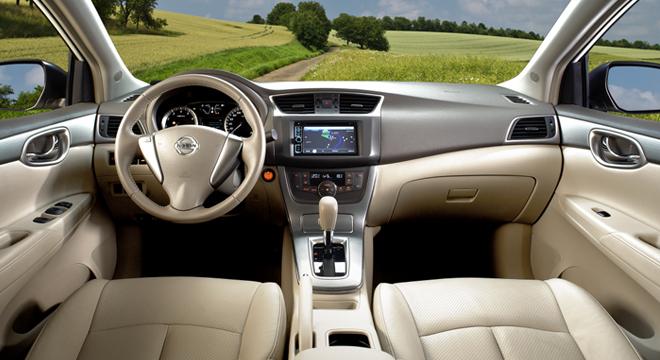 Nissan Sylphy 2018 dashboard