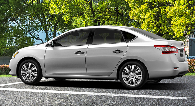 Nissan Sylphy side profile