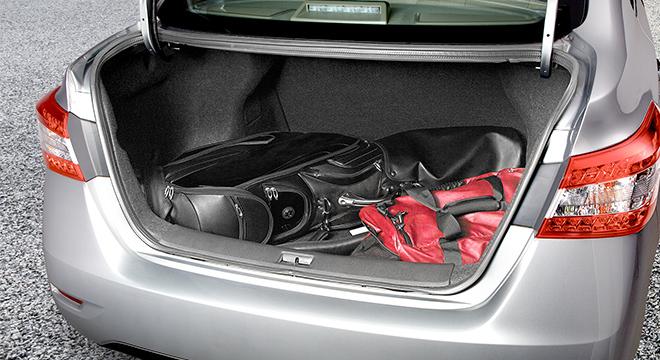 Nissan Sylphy trunk