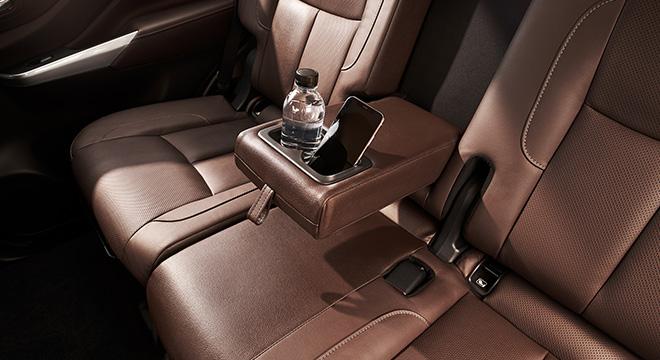Nissan Terra  center armrest
