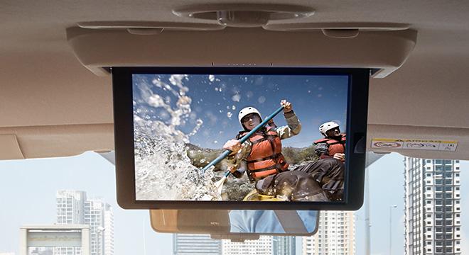 Nissan Terra  dvd screen