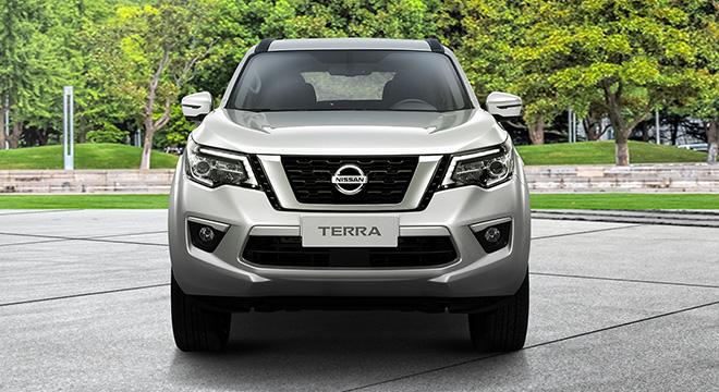Nissan Terra front face