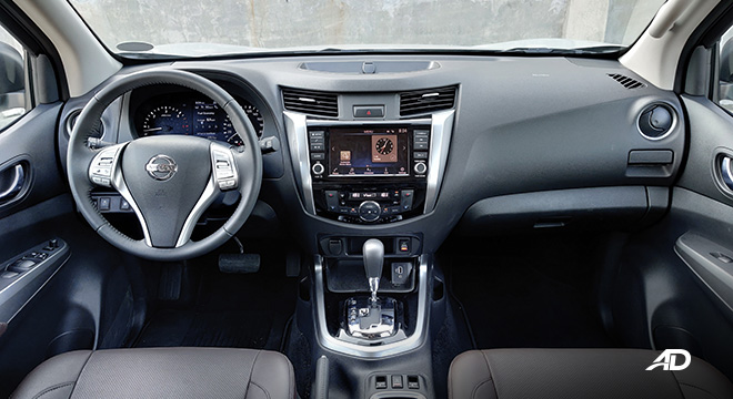 Nissan terra review road test dashboard interior philippines