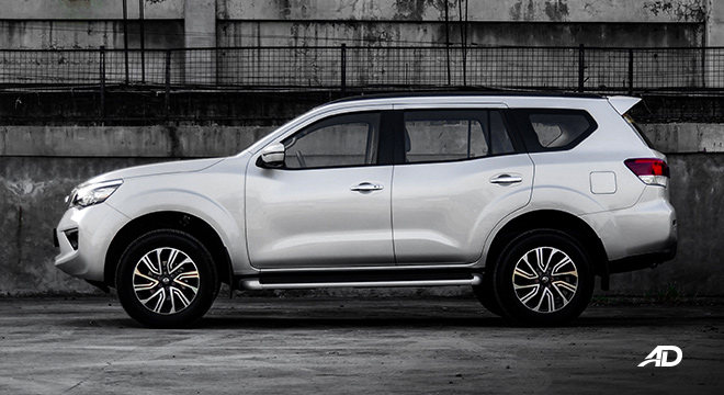 Nissan terra review road test side exterior philippines