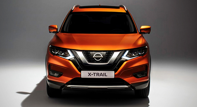 Nissan X-Trail 2018 face