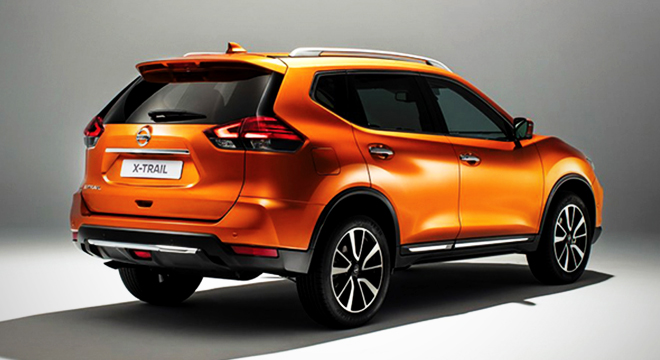 Nissan X-Trail 2018 rear