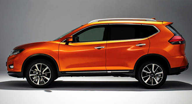 Nissan X-Trail 2018 side