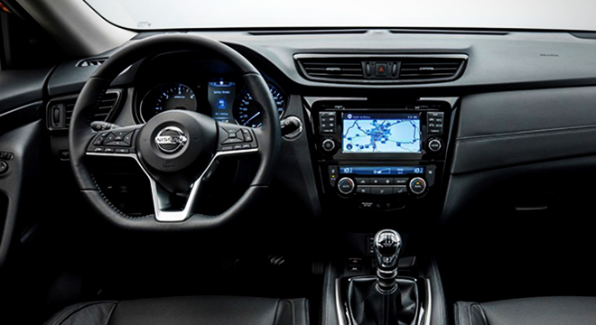 Nissan X-Trail 2018 steering wheel